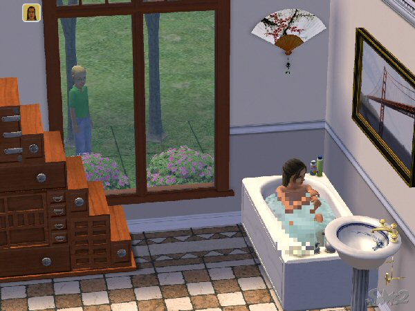 File:Sims2BathWatcher.jpg