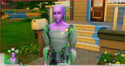 TS4 an alien