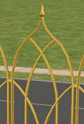 Gold Spin Fence