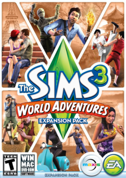 the sims 3 world adventures the sims wiki. Black Bedroom Furniture Sets. Home Design Ideas