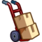 TS4 moving boxes icon