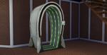 Electroflux Wormhole Generator