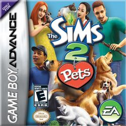 The Sims 2 Pets GBA