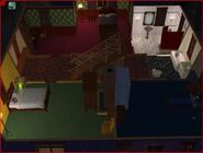 Goth home the sims 2 second floor (2)