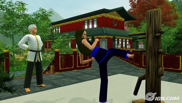 File:Sim kicking training dummy.jpg