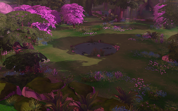 sims 4 how to live in silven glade