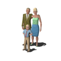 Landgraab Family (The Sims 3)-0