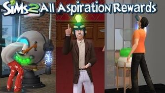 The Sims 2 All Aspiration Rewards