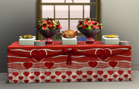 Sweetheart Buffet Table