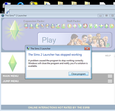 TS2 launcher crash 2