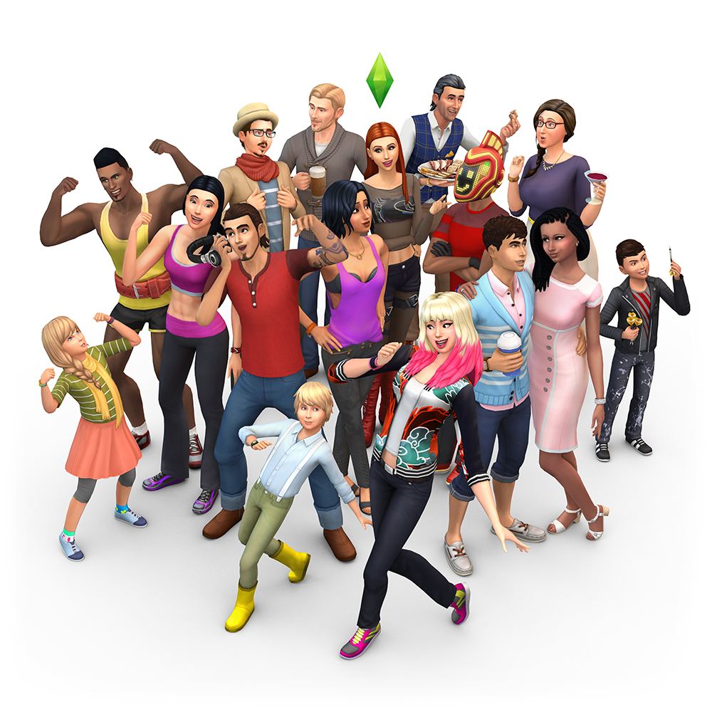 how to change sim baby to girl aims 4