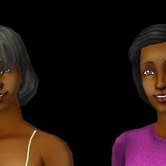 Los dos Doras de Los Sims 2 . La Dora