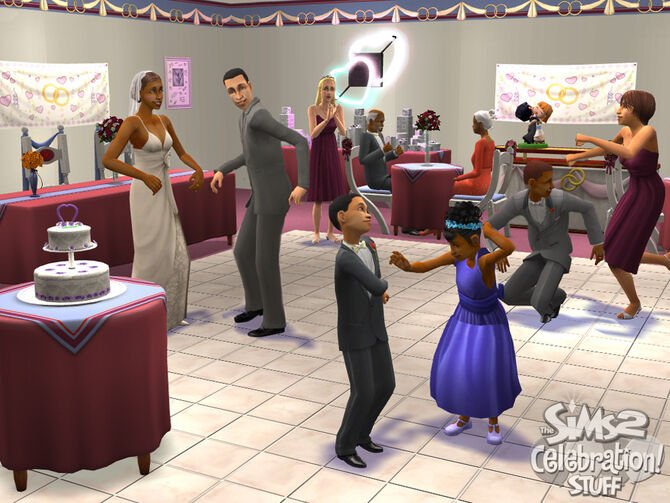 The Sims 2 Wedding Photo 3