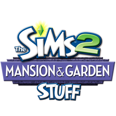 File:The Sims 2 Mansion & Garden Stuff Logo.png
