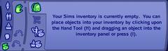 Empty Inventory