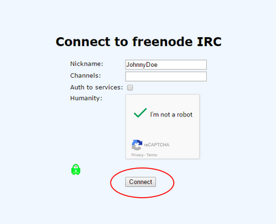 how to connect to onion irc