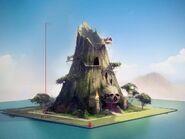 Sunlit Tides abandoned warehouse concept art
