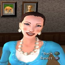 Betty Newbie (The Sims 2 Pets console)