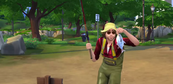 TS4 fishing