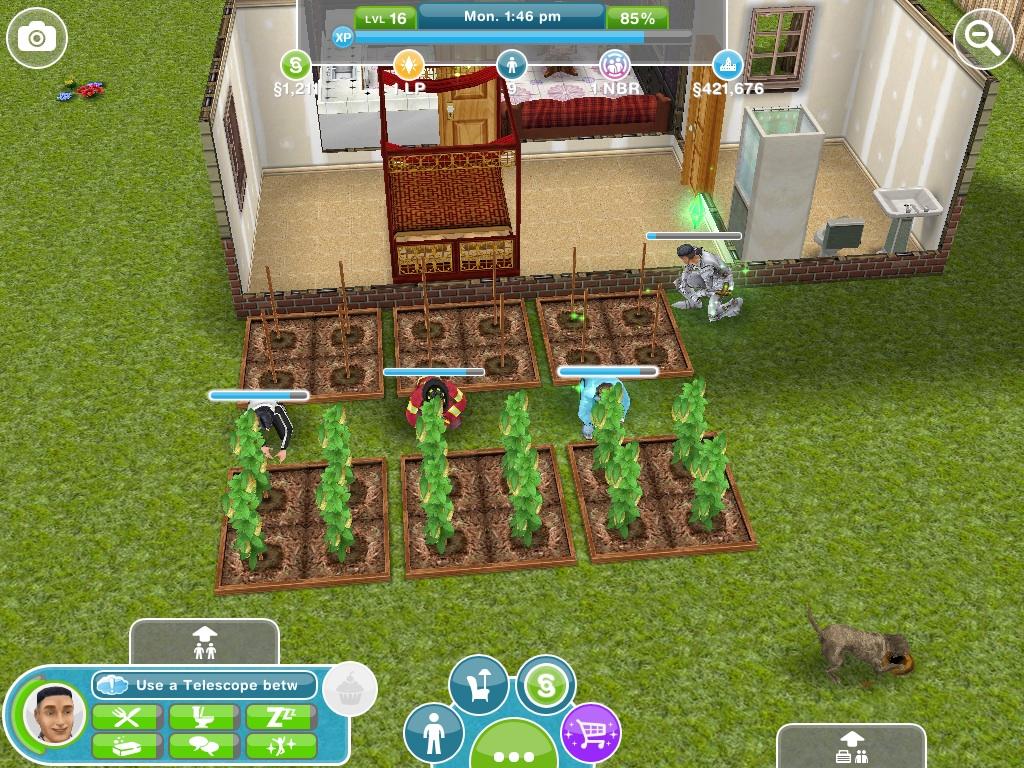 Gardening The Sims Freeplay Wiki Fandom Powered By Wikia