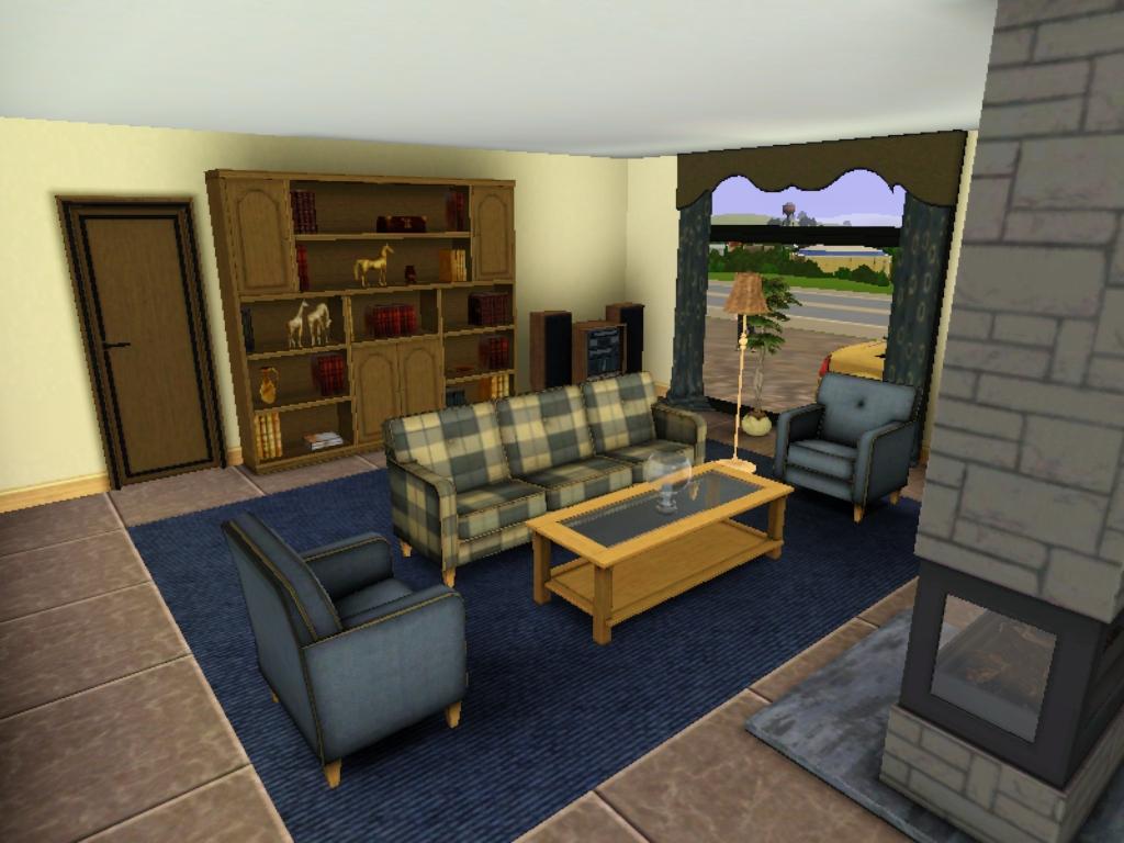 Image c mera moderna sala de estar jpg the sims wiki for Sala de estar the sims 4