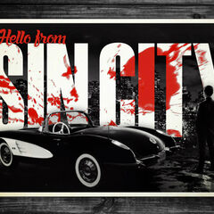 <i>A Dame To Kill For</i> digital postcard featuring Johnny.
