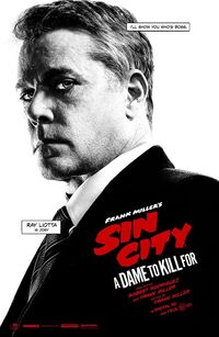 Ray Liotta as the BOSS JOEY in Sin City- A Dame to Kill For.