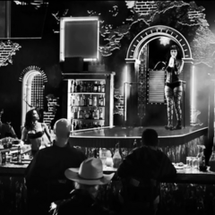 The bar in <i>The Long Bad Night</i>.