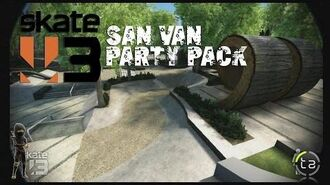 Skate 3 - San Van Party Pack DLC Film Challenges