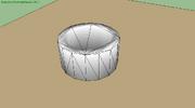 Collisionmesh of convexhull
