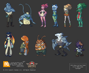 Skullgirls polished npcs by eyecager-d4wfmuj