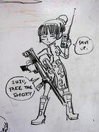 Skullgirls - Juju by a-bad-idea on DeviantArt