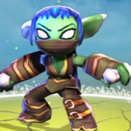 Skylanders stealth elf life element