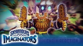 Meet Chain Reaction l Skylanders Imaginators l Skylanders