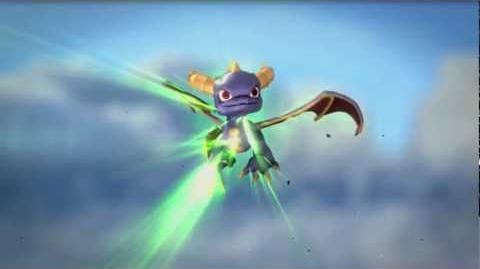 Skylanders Spyro's Adventure - Dark Spyro Trailer (Lights Out)