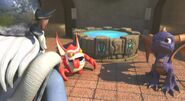 Spyro, Trigger Happy with Master Eon