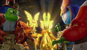 Golden Queen Doom Raiders