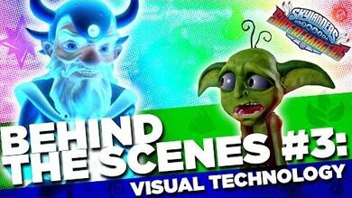 OFFICIAL Skylanders SuperChargers Behind the Scenes Visual Technology