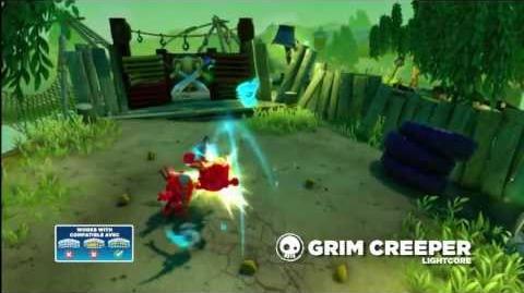Meet the Skylanders LightCore Grim Creeper
