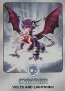 Series 2 Cynder Trading Card