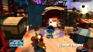 Skylanders Swap Force - Meet the Skylanders - Pop Thorn (Straight to the Point)