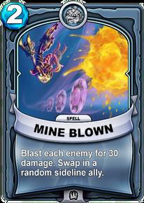 Mine Blowncard