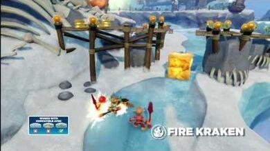 Skylanders Swap Force - Meet the Skylanders - Fire Kraken (Burn to be wild)