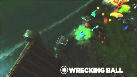 Skylanders Spyro's Adventure - Wrecking Ball Preview (Wreck 'n' Roll)