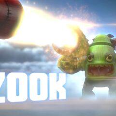 Zook en el trailer