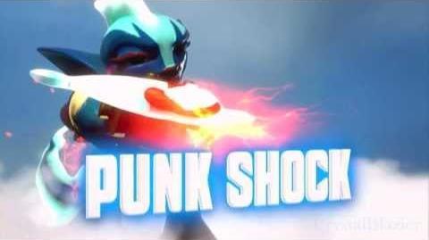Skylanders Swap Force - Punk Shock Soul Gem Preview (Amp It Up)