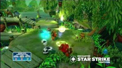 Skylanders Swap Force - Meet the Skylanders - LightCore Enchanted Star Strike