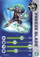 Freeze-blade-card