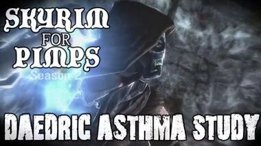 Skyrim For Pimps - Daedric Asthma Attack (S2E10) College of Winterhold Walkthrough-0