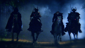 Sleepy Hollow Four Horsemen